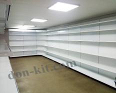 Торговые стеллажи, прилавки, витрины